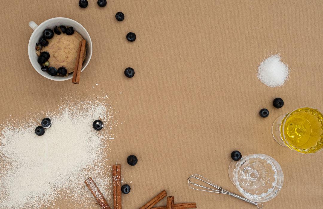 Quinoa-Tassen-Kuchen