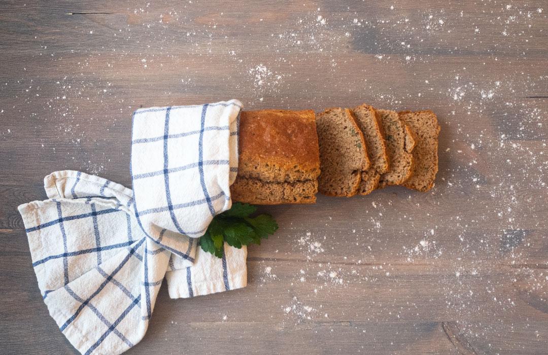 Basisches Dinkel-Quinoa-Brot