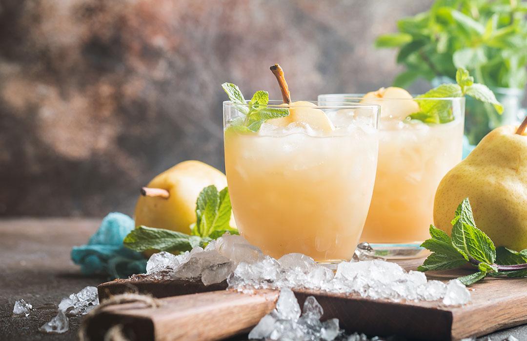 Birnen-Joghurt-Drink