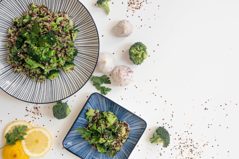 Quinoa-Brokkoli-Salat